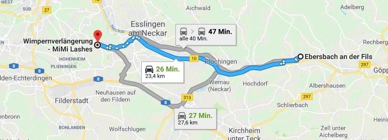 Wimpernverlängerung Ebersbach an der Fils