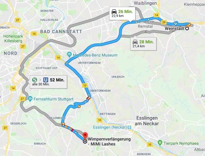 Wimpernverlängerung Weinstadt