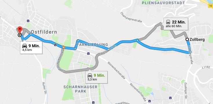 Wimpernverlängerung Esslingen Zollberg